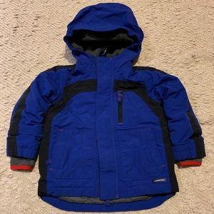Lands end boys winter jacket